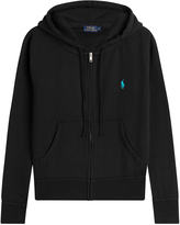 Polo Ralph Lauren Zipped Cotton Blend Hoodie