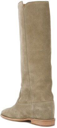Isabel Marant Cleave concealed wedge boots