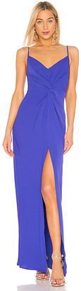 Amanda Uprichard Ellie Maxi Dress
