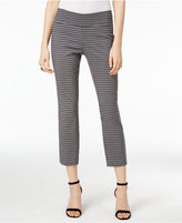 Alfani Petite Printed Capri Pants, Only at Macy's