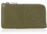 Loewe Logo-debossed Leather Cardholder