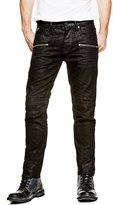 GUESS Slim Tapered Moto Jeans