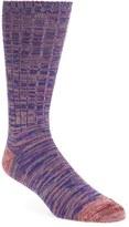 Paul Smith Men's 'Quadtwist' Cotton Blend Socks