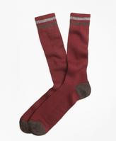 Brooks Brothers Kennedy Stripe Crew Socks