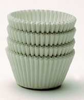 Hoffmaster White Jumbo Bake Cups, 500 per tube by Kitchen Krafts