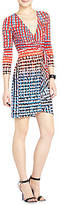 BCBGMAXAZRIA Kaitlin Dolman-Sleeve Wrap Dress