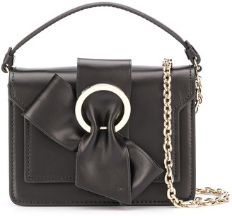 Paule Ka Bow Detail Crossbody Bag
