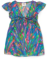 Milly Minis Flutter Sleeve Coverup