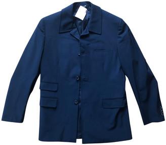 Prada Blue Polyester Suits