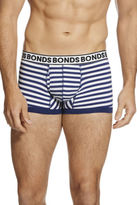 Bonds NEW Fit Stipe Trunk Navy