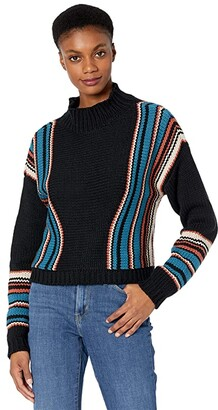 Rock and Roll Cowgirl Pullover Drop Shoulder Sweater 46-7685
