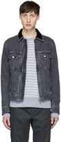 Diesel Grey Denim D-Ashton-Zip Jacket