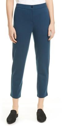 Eileen Fisher Slouchy Tencel® Lyocell Blend Ankle Pants
