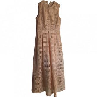 Sandro Beige Cotton Dress for Women