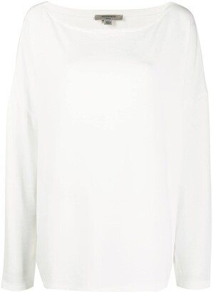 AllSaints Long-Sleeved Loose Fit Top