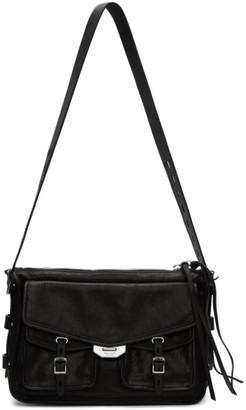 Rag & Bone Black Field Messenger Bag