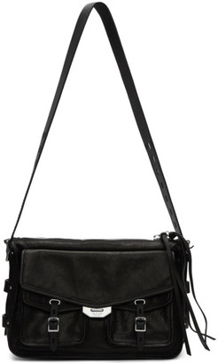 Rag & Bone Black Field Messenger Bag