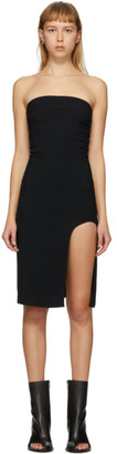 Ann Demeulemeester Black Bethany Corset Short Dress