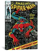 iCanvas Marvel Comics Book Spider-Man Issue Cover #100 Graphic Art on Wrapped Canvas