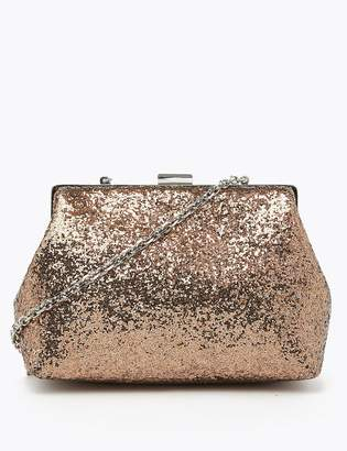 M&S CollectionMarks and Spencer Glitter Chain Strap Shoulder Bag