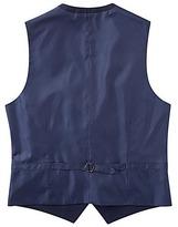 Joe Browns Navy Mini Check Suit Waistcoat Regular