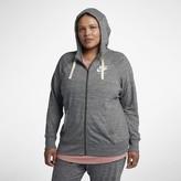 Nike Women's Full-Zip Hoodie (Plus Size Sportswear Gym Vintage