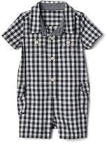 Gap Gingham Shorty One-Piece