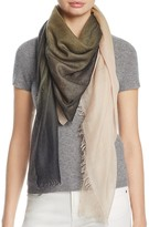 Jane Carr The Wave Carré Wool Scarf