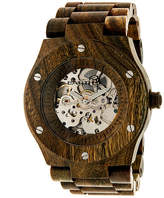 Earth Wood Grand Mesa Automatic Olive Bracelet Watch ETHEW3104