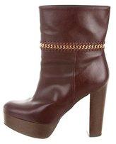 Stella McCartney Mid-Calf Chain-Link Boots