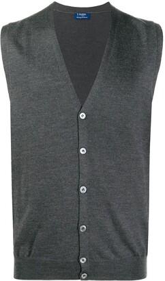 Barba V-neck cardigan