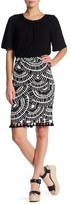 Trina Turk Dorris Printed Pencil Skirt