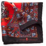 Astrid Sarkissian - Death's Head Red Handkerchief