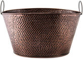 Old Dutch Oval Hammered Copper Party Tub