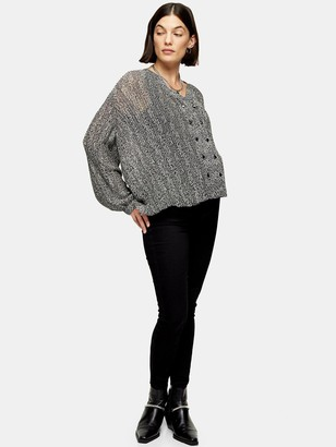 Topshop MaternityOver-bump Joni Jeans - Black