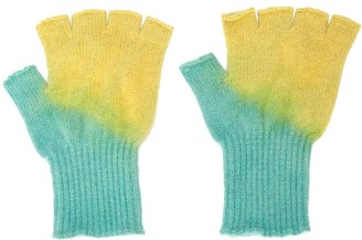 The Elder Statesman Fingerless Gloves