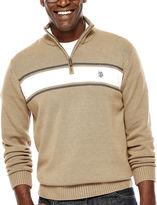 USPA U.S. Polo Assn. Striped Quarter-Zip Sweater