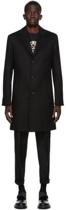 HUGO BOSS Black Malte Coat
