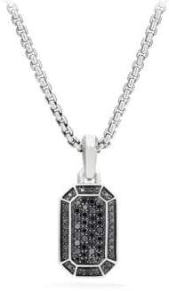 David Yurman Black Diamond Pendant