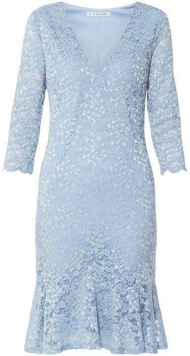 Gina Bacconi Nadalie Stretch Lace Dress
