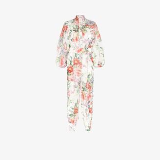 Zimmermann Bellitude floral jumpsuit