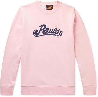 Loewe + Paula's Ibiza Logo-Print Cotton-Jersey Sweatshirt