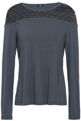 Cosabella Lace-paneled Modal-blend Pajama Top