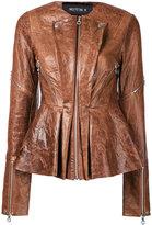 Kitx - Flower jacket - women - Leather - 12