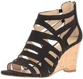 Nine West Women's Canary Nubuck Wedge Sandal