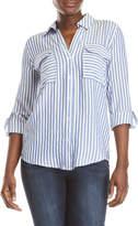 Blu Pepper Striped Collared Shirt