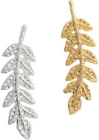 H&M Frond-shaped Earrings - Gold-/silver-colored - Ladies