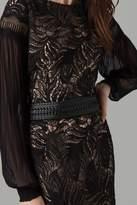 Amanda Wakeley Black Worked Leather Belt