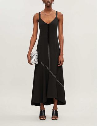 Camilla And Marc Benito asymmetric woven midi dress