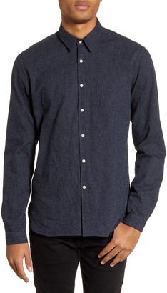 Oliver Spencer New York Special Slim Fit Solid Button-Up Shirt